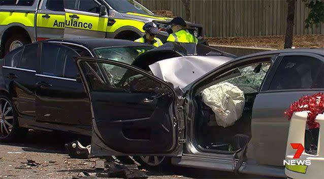 Survivor of fatal Christmas Day crash robbed in hospital