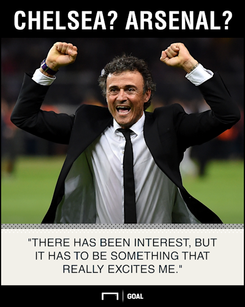 Luis Enrique waiting on exciting offer