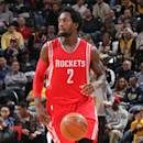 INDIANAPOLIS, IN - MARCH 23: Patrick Beverley #2 of the Houston Rockets handles the ball against the Indiana Pacers on March 23, 2015 at Bankers Life Fieldhouse in Indianapolis, Indiana. (Photo by Ron Hoskins/NBAE via Getty Images)