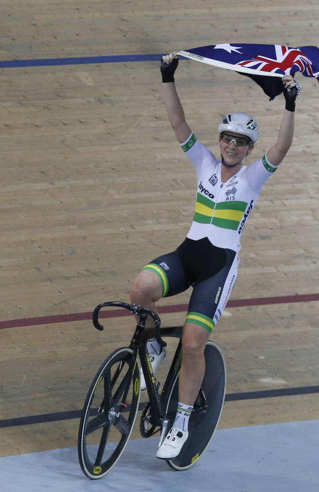 Meares wins record 11th title at track worlds