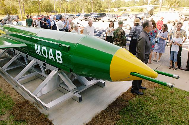 Image result for US drops 'mother of all bombs' in Afghanistan