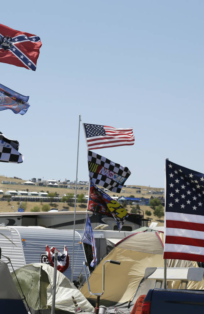 NASCAR tracks unite, ask fans not to fly Confederate flag