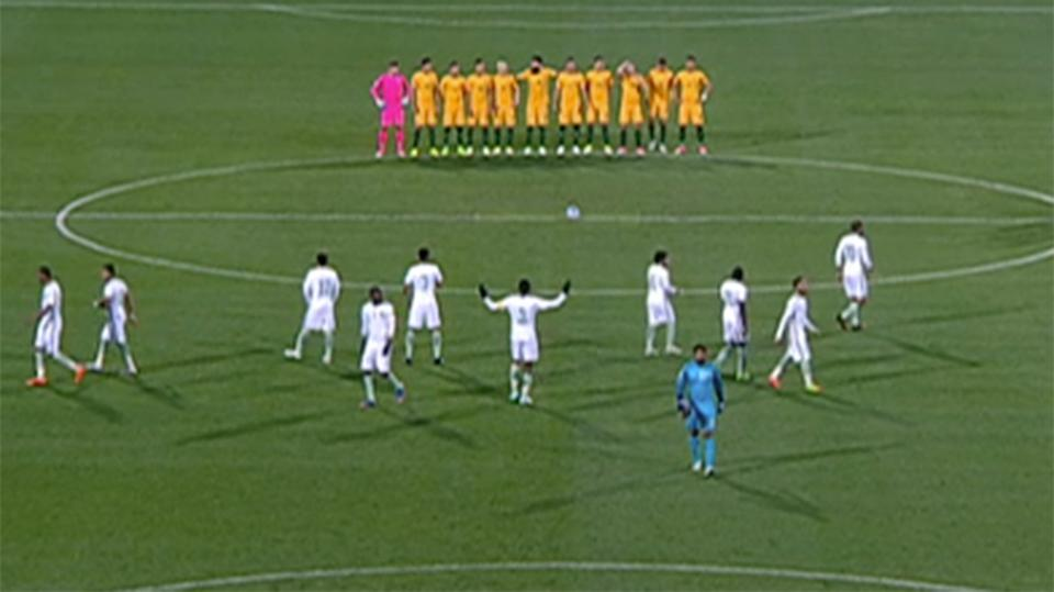 Saudi Arabia national soccer team snubs moment of silence for London victims