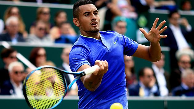 Wimbledon 2017: Kyrgios Retires Against Herbert After Hip Injury