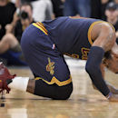 An elbow to LeBron's back added injury to the Spurs' insult of the Cavs