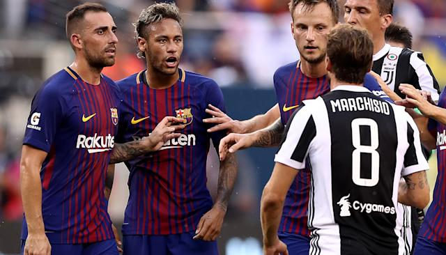 Neymar Filmed Clashing With Teammate In Fiery Exchange