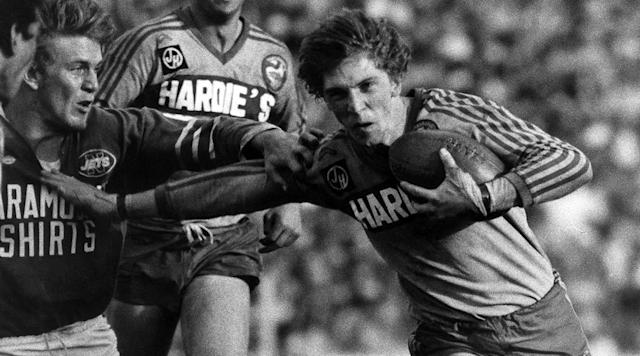 Parramatta great tackles cancer battle