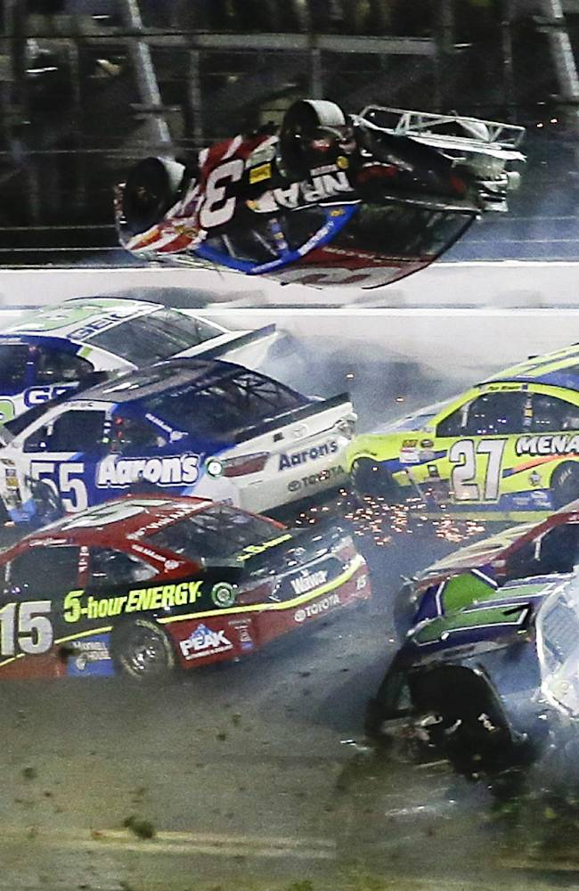 Frightening Daytona wreck puts NASCAR safety in spotlight