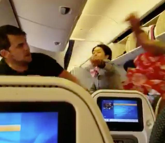Violent Brawl Breaks Out on Plane