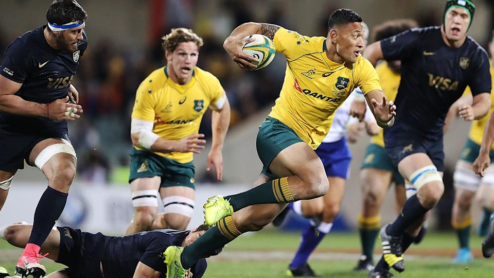 Australia makes 1 change to starting XV for Argentina test