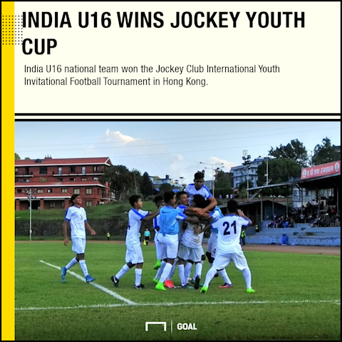 GFX India U16 Jockey Youth Cup champions