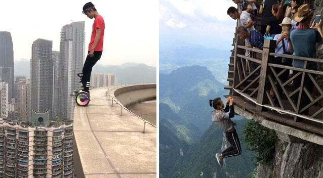 Chinese daredevil plunges 62 storeys to his death