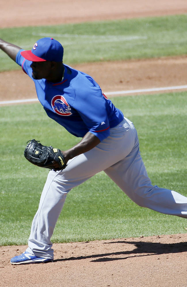 Frazier homers, drives in 4 as Reds beat Cubs
