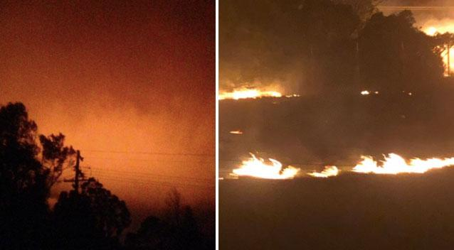 Residents told it's too late to leave as Victoria fires spread