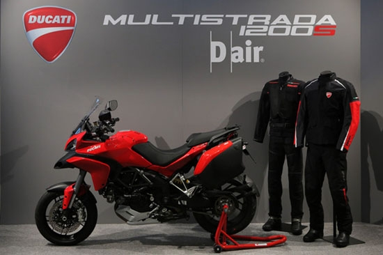 photo 1: 內建氣囊防護機制,Ducati Multistrada D Air車型問世