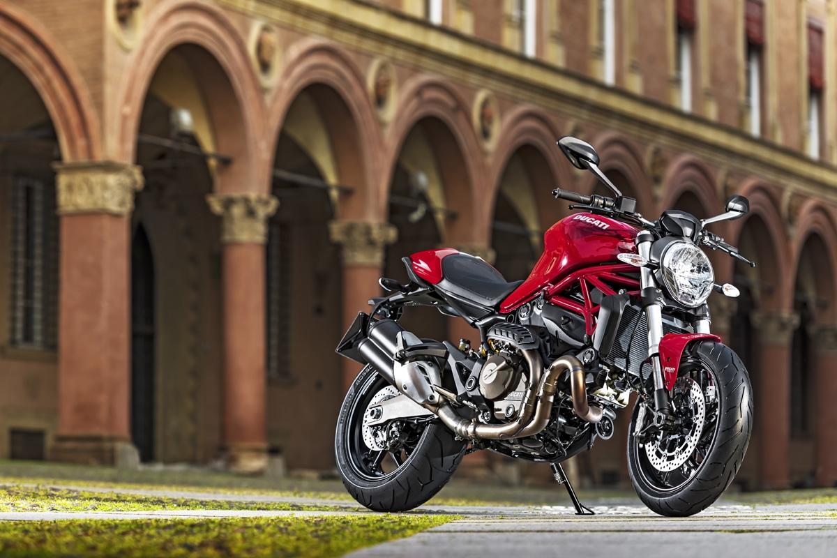 photo 1: 中量級妖怪變身,Ducati Monster 821全新亮相