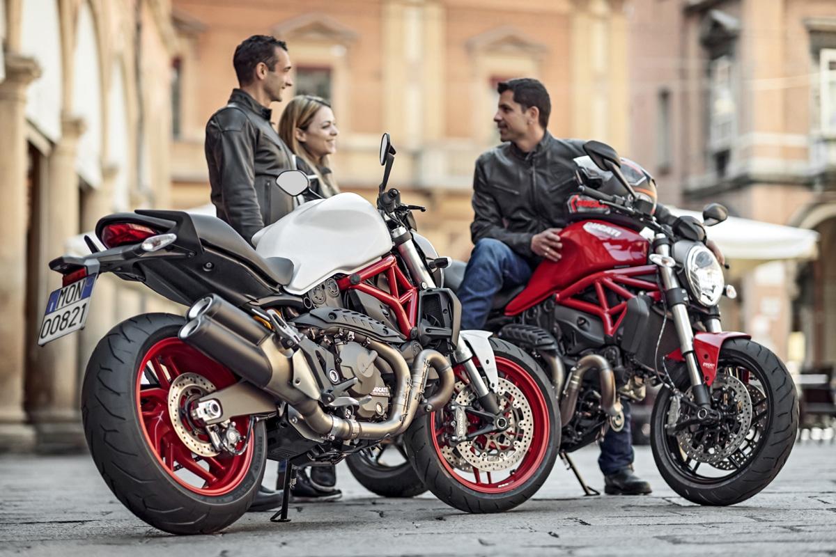 photo 2: 中量級妖怪變身,Ducati Monster 821全新亮相