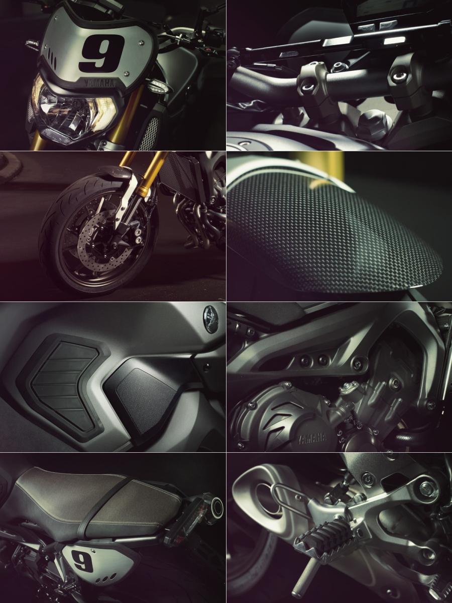 photo 2: Yamaha MT家族追加新車型,MT-09 Street Tracker參上!