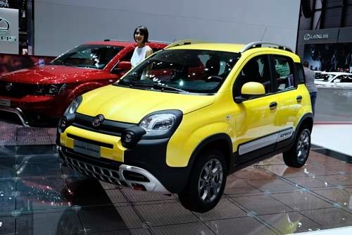 熊貓野放 Fiat Panda Cross
