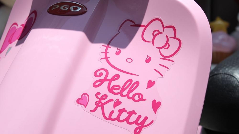 PGO再次攜手三麗鷗!Hello Kitty J-BUBU 72,900元限量千輛開賣