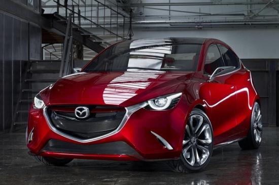 2014日內瓦車展報導:下一代Mazda2雛形,Hazumi概念車身披Kodo與SKYACTIV