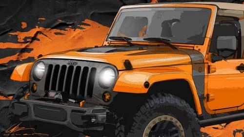 Jeep釋出兩款概念車草圖