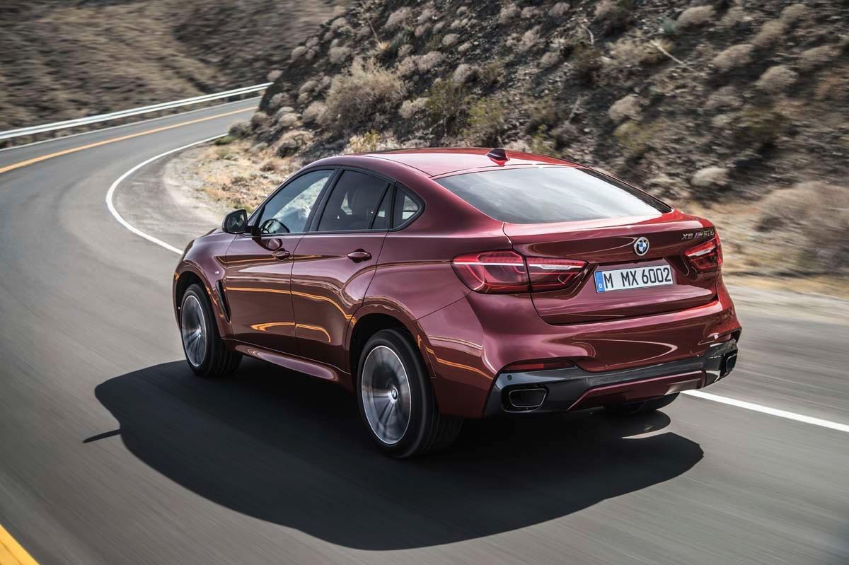 力與美的灘頭堡 BMW New X6二世現身