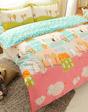 精梳純棉兩用被床包組