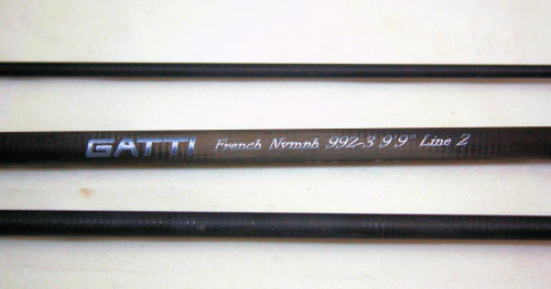 French Nymph 992-3 fly rod blank
