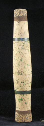 Green variegated cork grip with green maple accents