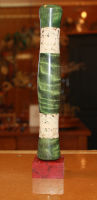 Quilted Poplar Full Wells Fly Rod Grip