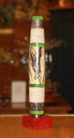 Stabilized Spalted Big Leaf Maple Fly Rod Grip