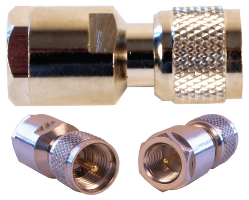 971105 - FME-Male to Mini-UHF-Male Connector