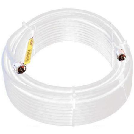 952400 - 100-FT. LMR400 ULTRA LOW LOSS WHITE COAX CABLE