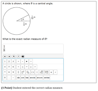 Central Angle Solution & Calculator