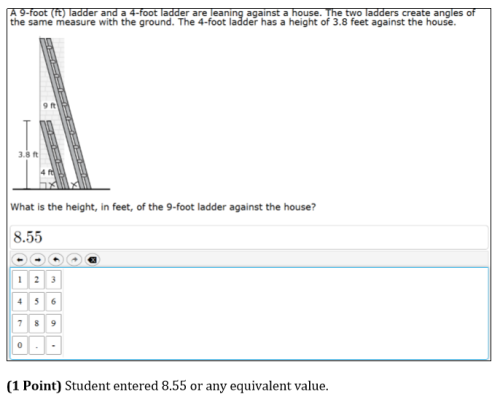 Height of Ladder Solution & Calculator