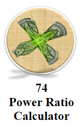 Power Ratio Calculator