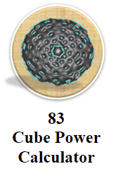 Cube Power Calculator