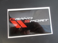 Corvette Grand Sport Domed Visor Decal Pair