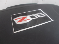 C6 Z06 Domed Visor Decal Pair