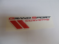 Corvette C6 Grand sport Domed Emblem 4.5 inch