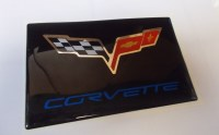 C6 Corvette Domed Visor Decal Pair Assorted Colors