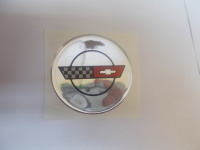 C4 Corvette Round Domed Decal Oil Cap Size