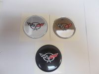 C5 Corvette Round Domed Decal Oil Cap Size