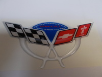 Corvette C5 Commemorative Edition Domed Air Bridge Decal