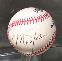 Mike Trout Los Angeles Angels Autographeded Baseball