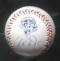 Mike Trout Los Angeles Angels 2013 Autographed All Star Game Baseball