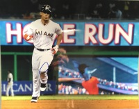 Giancarlo Stanton Miami Marlins 11x14 Autographed Photo