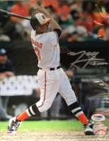 Manny Machado Baltimore Orioles Autographed 8x10 Photo