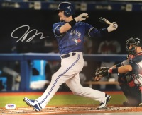 Josh Donaldson Toronto Blue Jays 11x14 Autographed Photo